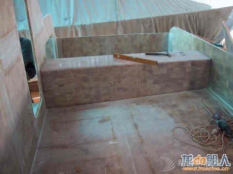 帆船 国外夫妇打造双体帆船