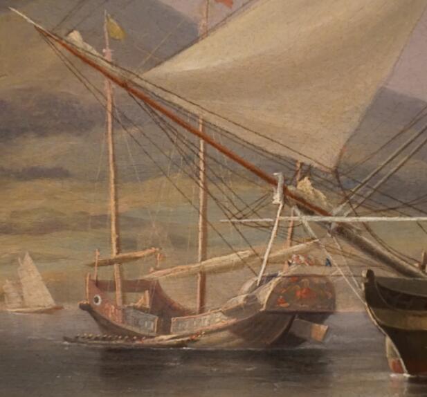 郑和下西洋,航海技术,梁思成,外国人,中国 抢救中式帆船文化(一)西方的研究 香港海事博物馆收藏画上的中式货船