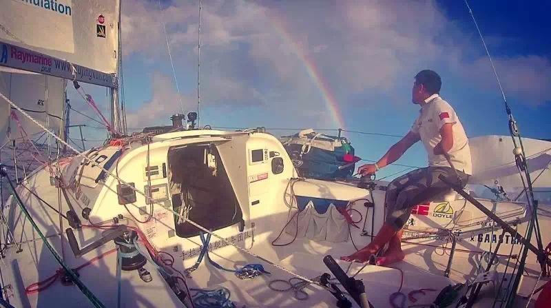 蝴蝶飞,法兰西,加勒比海,大西洋,布列塔尼 卑微的梦想者---远航是为了回家,京坤的2015单人横跨大西洋极限挑战回忆录连载 193830953664496871.jpg