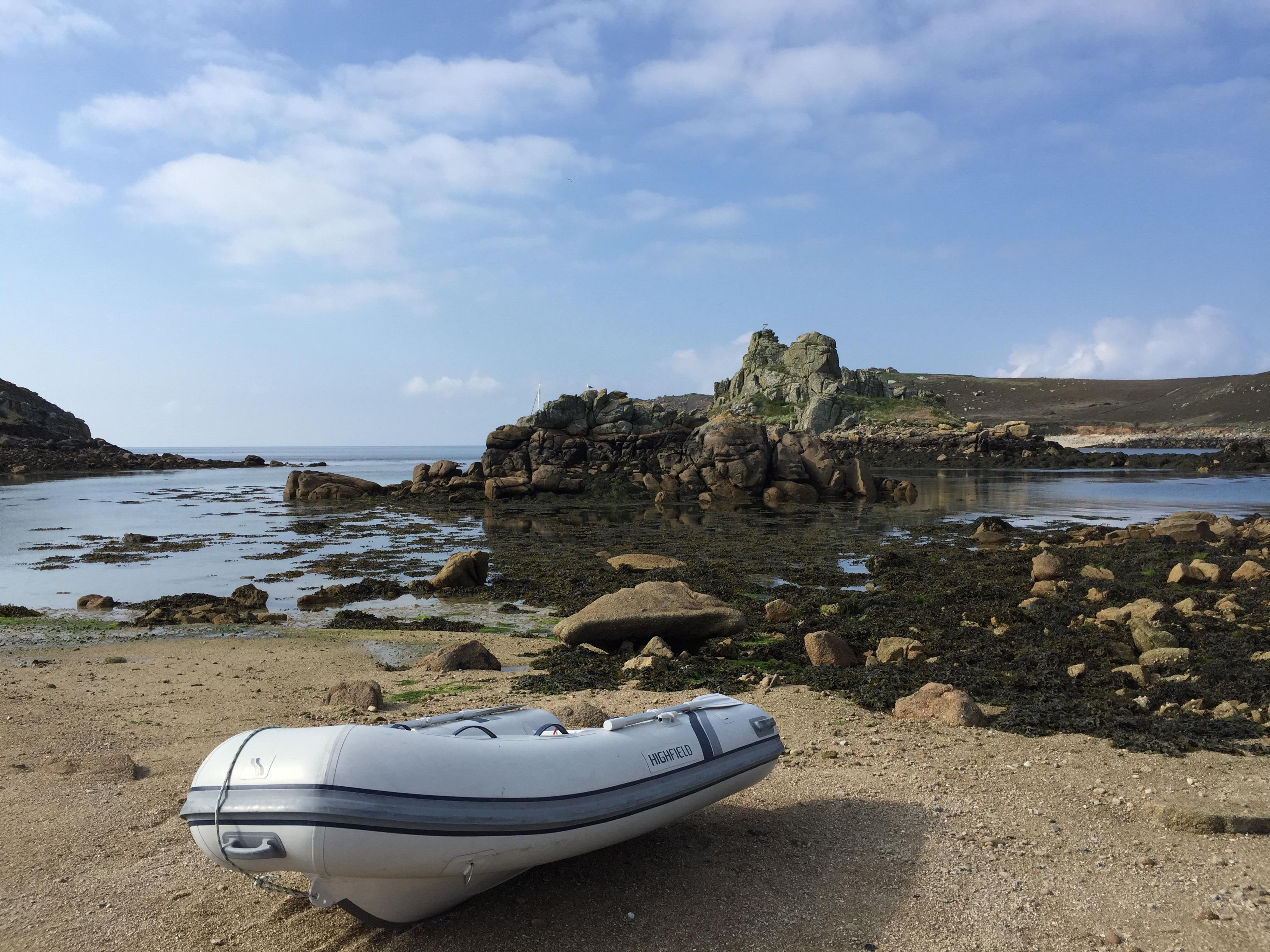 心远地偏锡利岛,皮艇登陆有绝招--《再济沧海》(45)