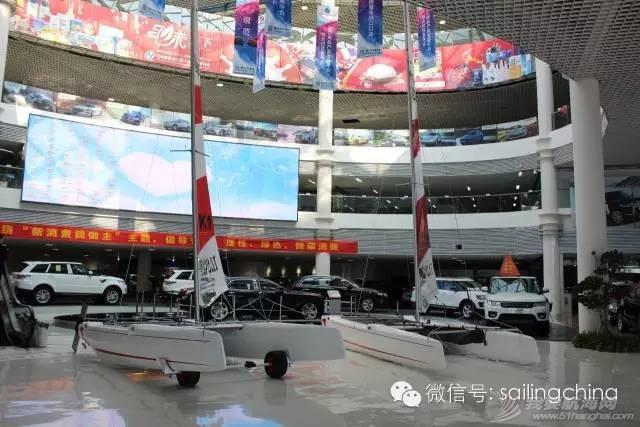 来自德国的双体帆船TOPCAT首次进驻青岛保税区汽车展厅 82154068b9727ba9142e1dc68132e5a1.jpg