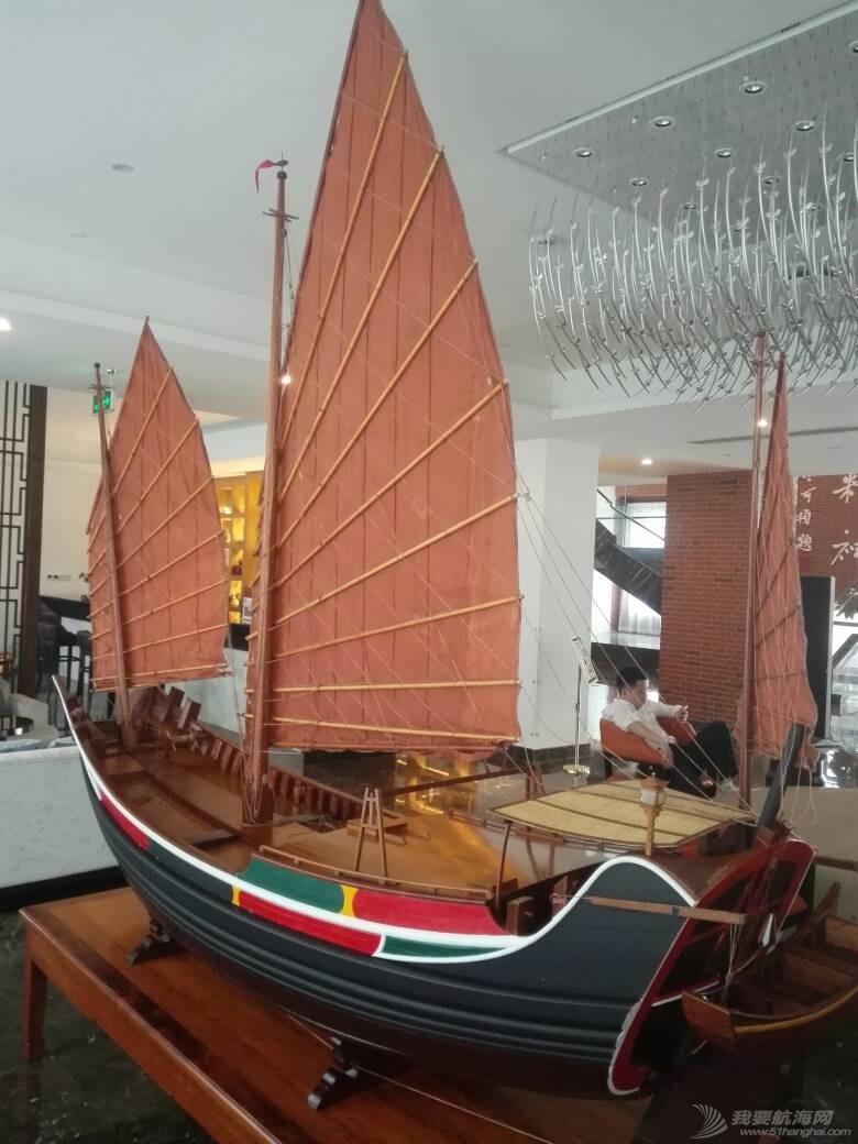浙江大学海洋学院的中式帆船模型 105250lnz3xoqosc4fyncz.jpg