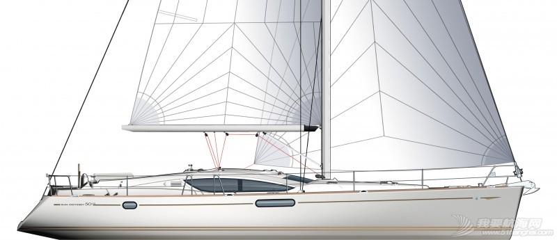 拉力赛,帆船,威海 威海-仁川帆船拉力赛我要航海网队招募船员 boat-Sun-Odyssey-DS_plans_20120125170232.jpg