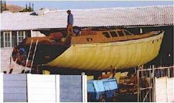 钢结构帆船