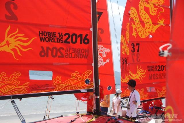 """捷报丨美帆职业队参加2016年第21届""""Hobie16""""帆船世界锦标赛取得预期成绩 6f4b1c28aba733243667a608f323d118.jpg"""