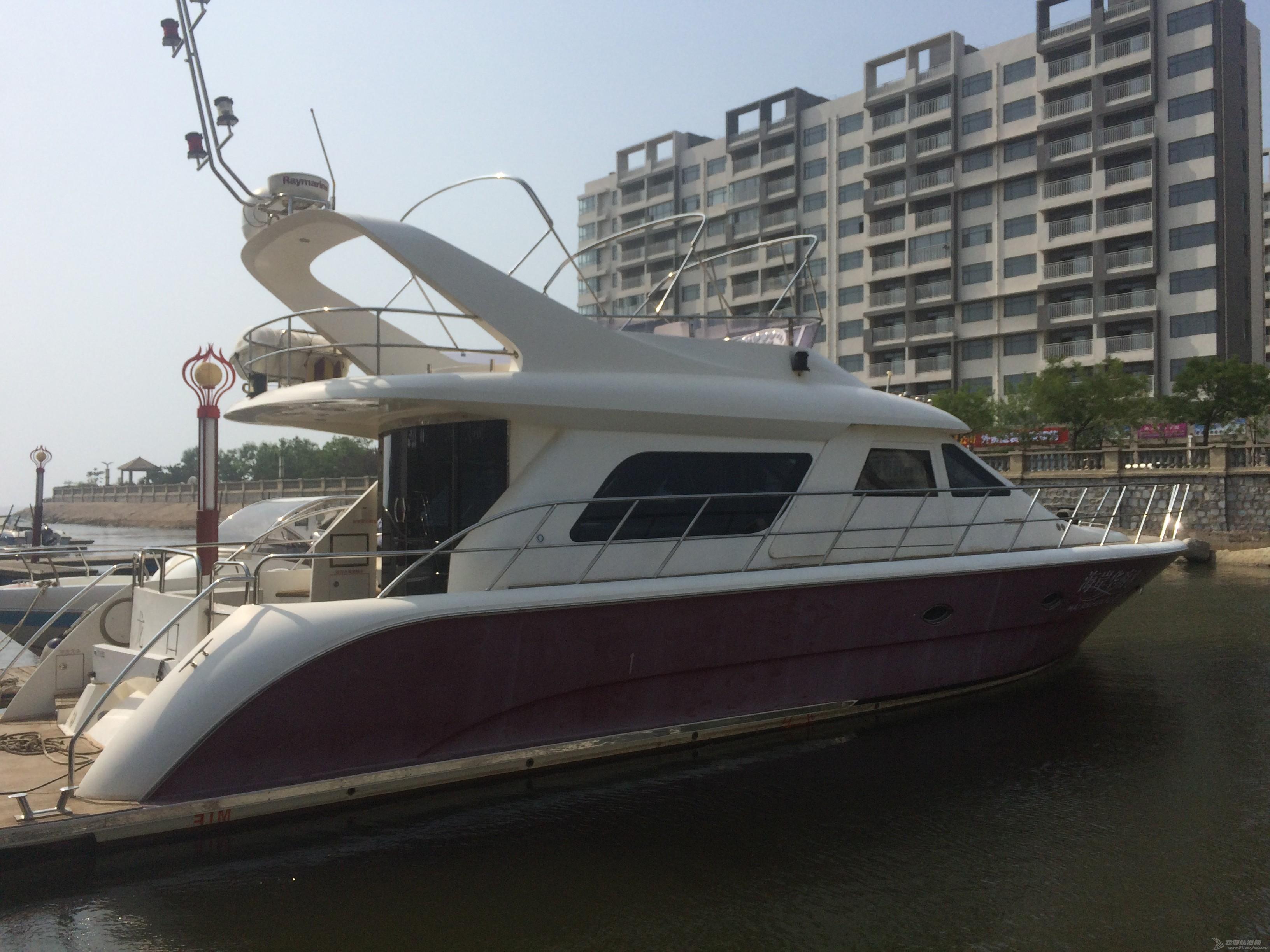 现有两艘48英尺和58英尺的游艇对外出售 太平鸟58英尺