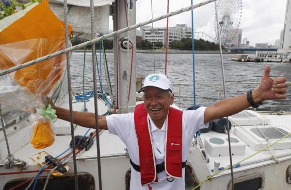 环游世界,帆船航海,200个字,爱上航海,自由和勇气 200个字,让你爱上航海 斋藤实2.jpg