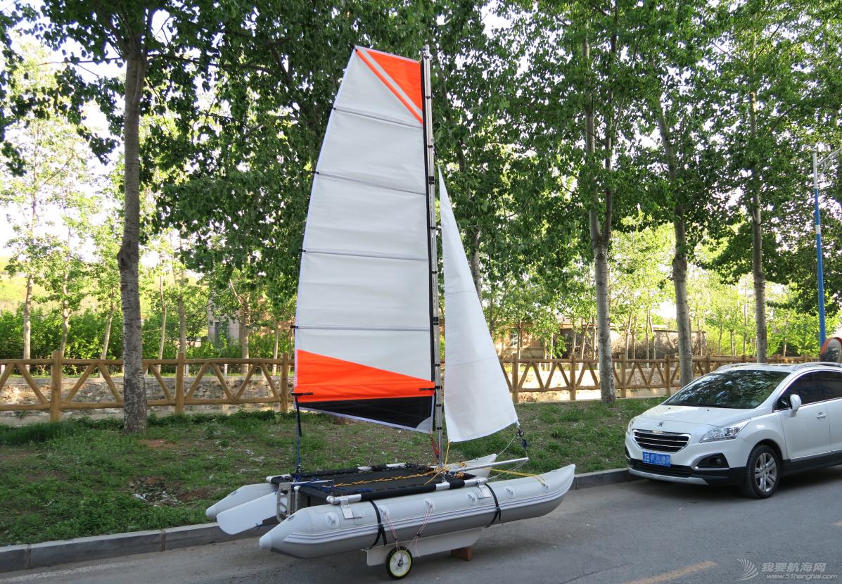 帆船 我做的双体充气小帆船试航视频 QQ图片20160628191106.png