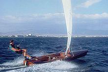帆船分类,帆船赛事级别,帆船历史 史上最全帆船分类及帆船比赛级别 220px-Contender_sailing_dinghy.jpg