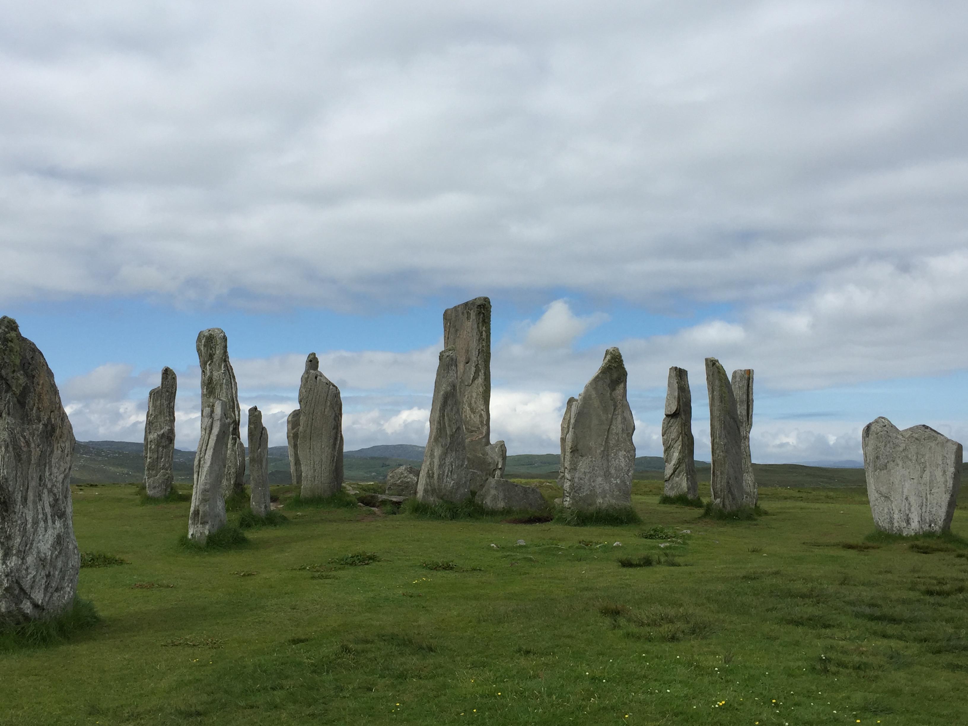 工作人员,苏格兰,自驾游,刘易斯,大自然 史前文化众遗址,石阵石冢石围楼--《再济沧海》(57)