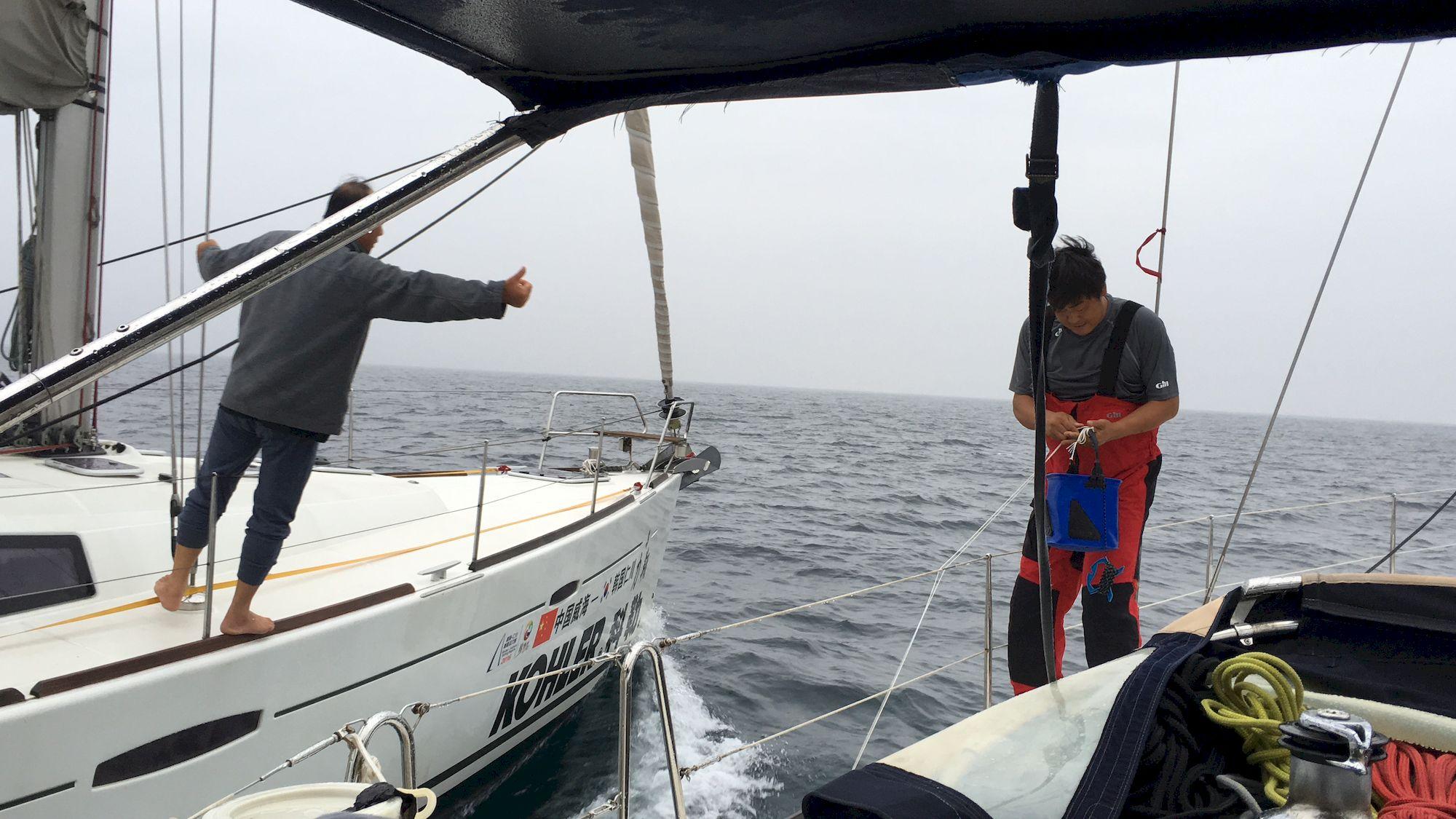 新西兰,跆拳道,俱乐部,拉力赛,青岛 向着太阳升起的地方出发:记第一次跨国远航-千航帆船-51航海网队-2016威海仁川 031-IMG_3405_千帆俱乐部我要航海网帆船队-2016威海-仁川国际帆船赛.JPG