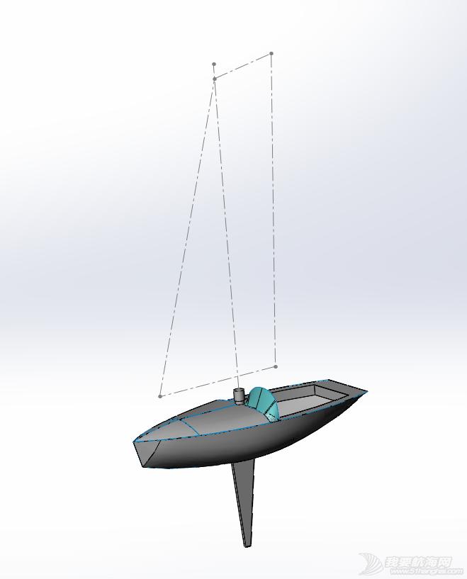 帆船 5米小帆船能用机翼帆吗?