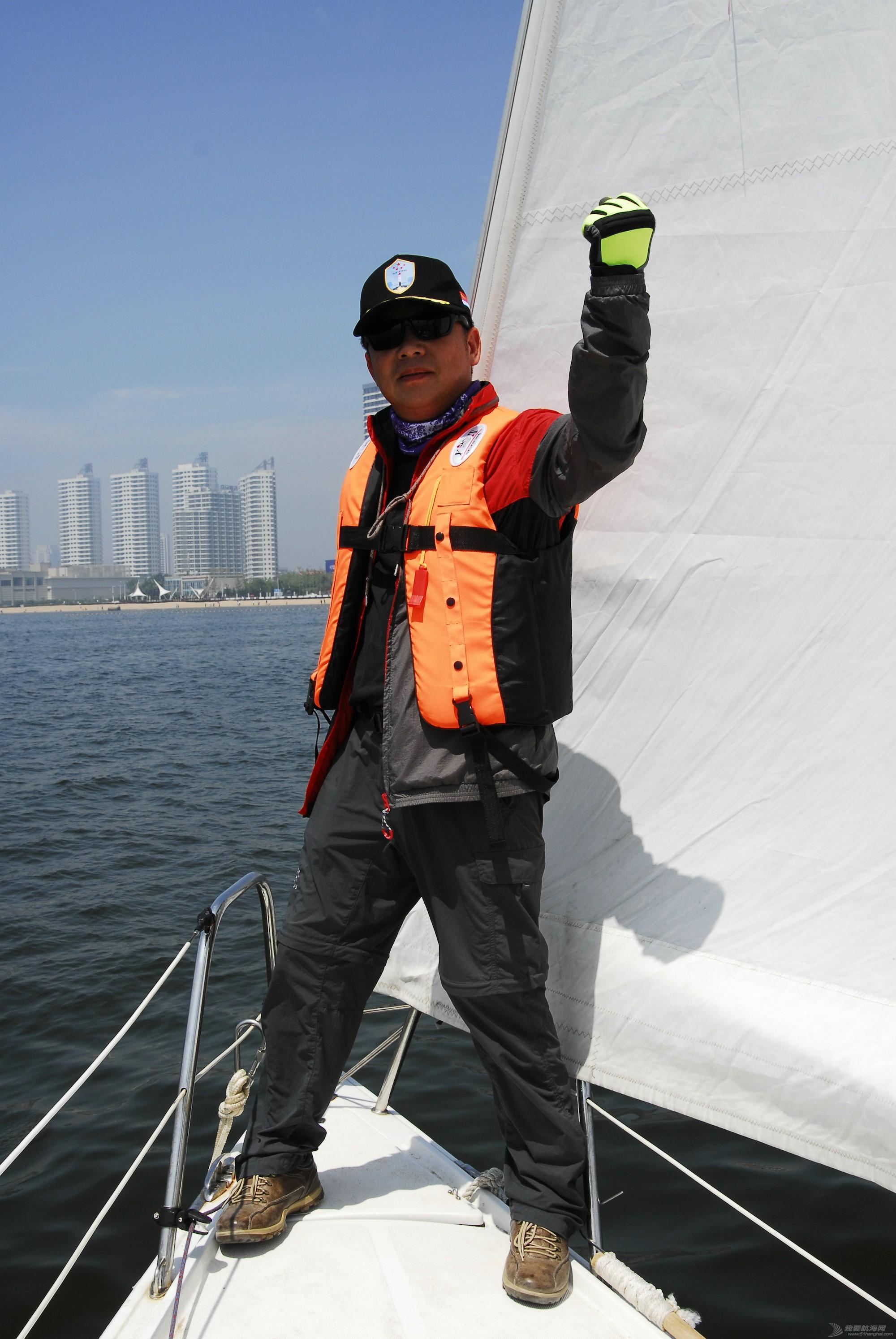 """我要去航海-日照公益队参加秦皇岛七月""""飞驰杯""""帆船赛汇总"""