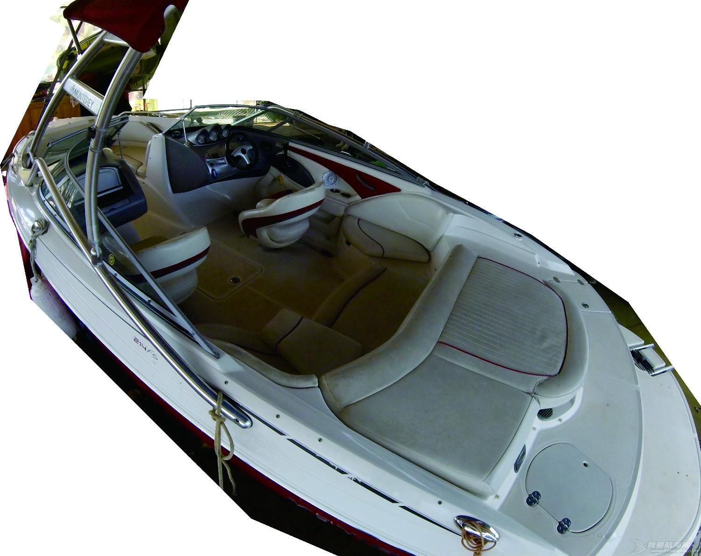 二手一直淡水使用美国蒙特瑞21尺快艇超低价出售!