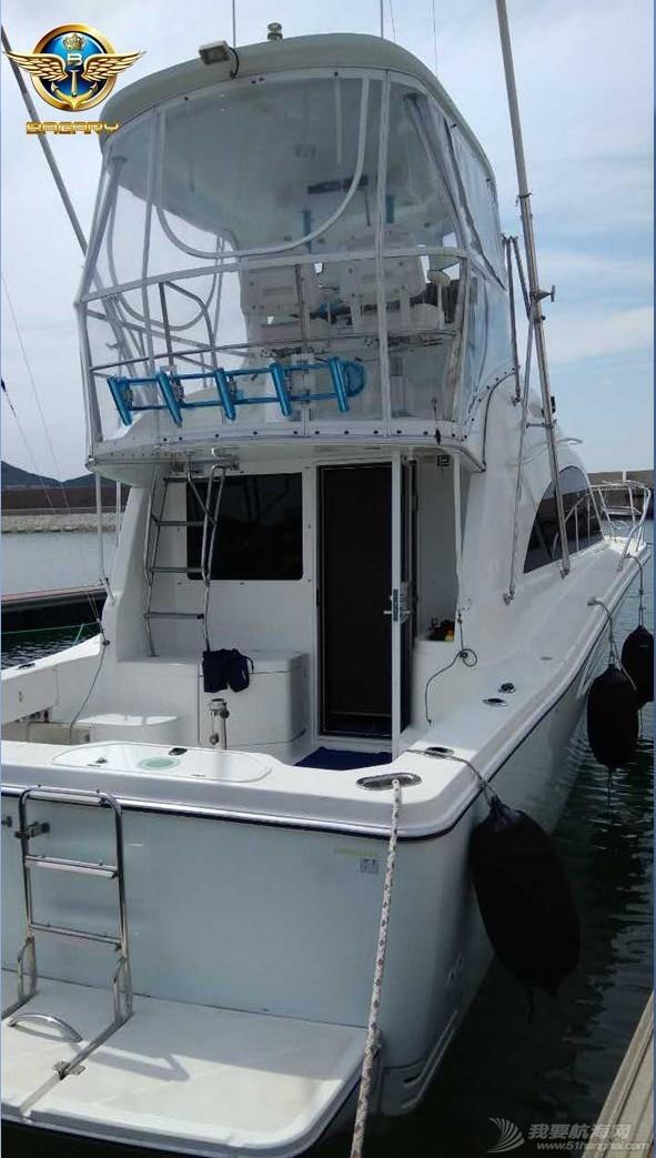 雅马哈,二手,进口 2014年雅马哈进口二手钓鱼艇Y360 7月急售 价格美丽 22.jpg