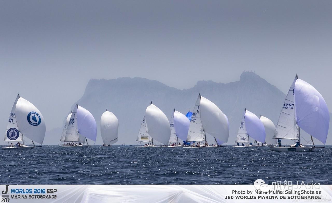 西班牙安达卢西亚,J80帆船世锦赛激战正酣 3c0b55c4ac1c62680ddca77c0700deaa.jpg