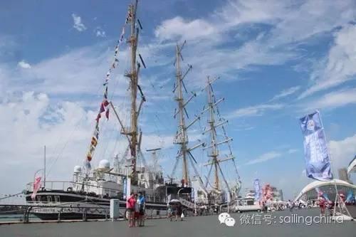 帆船周·海洋节8月5日激情启航,俄罗斯108米长大帆船来助兴 c7d0e546c58e880b74ede905ee3547c1.jpg