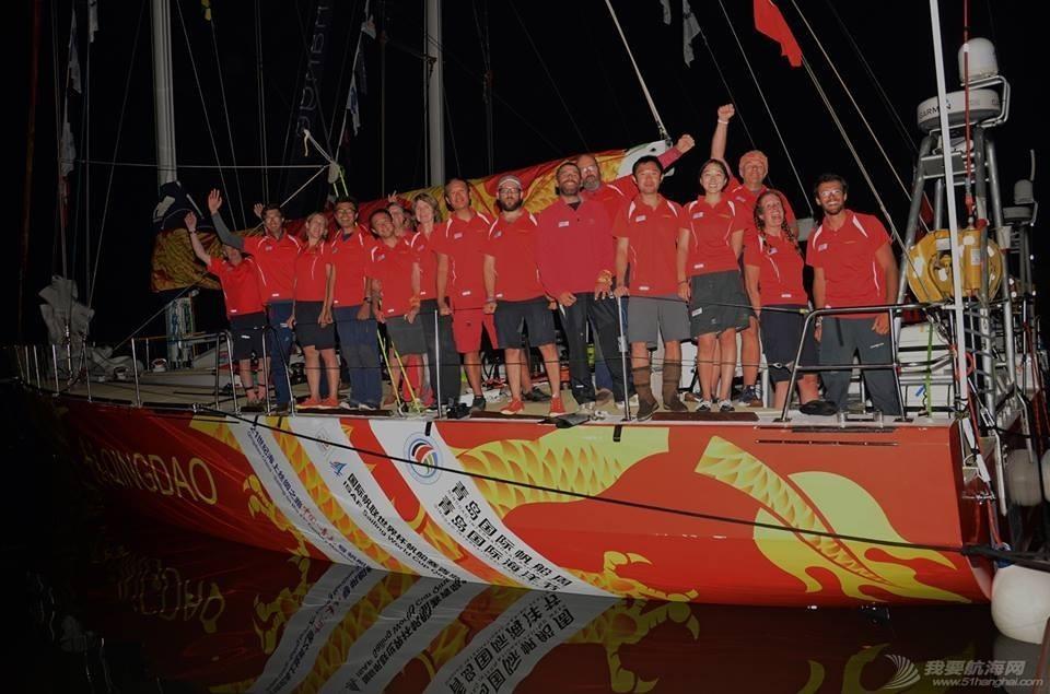 青岛号结束克利伯环球之旅 获总成绩第五 2da74ad3f0905a1e105a7a3035081bf7.jpg