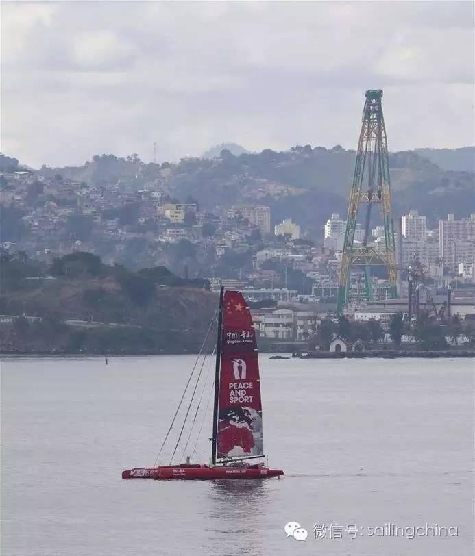 航海家郭川驾驶帆船抵达里约助阵奥运 b5a8d60df2ce5ad76d420d024ce00911.jpg