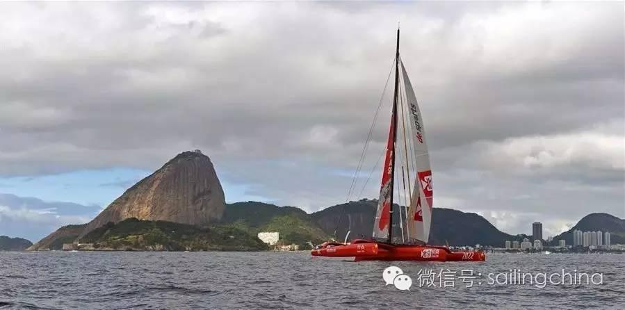 航海家郭川驾驶帆船抵达里约助阵奥运 46c62f9b5aab2e845f7e7f8df884578d.jpg