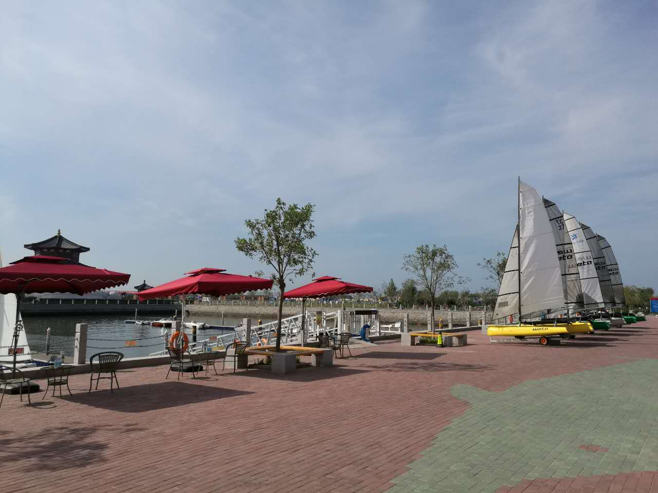 京津冀地区,帆船运动,俱乐部,会员,帆板 百伦斯帆船俱乐部码头
