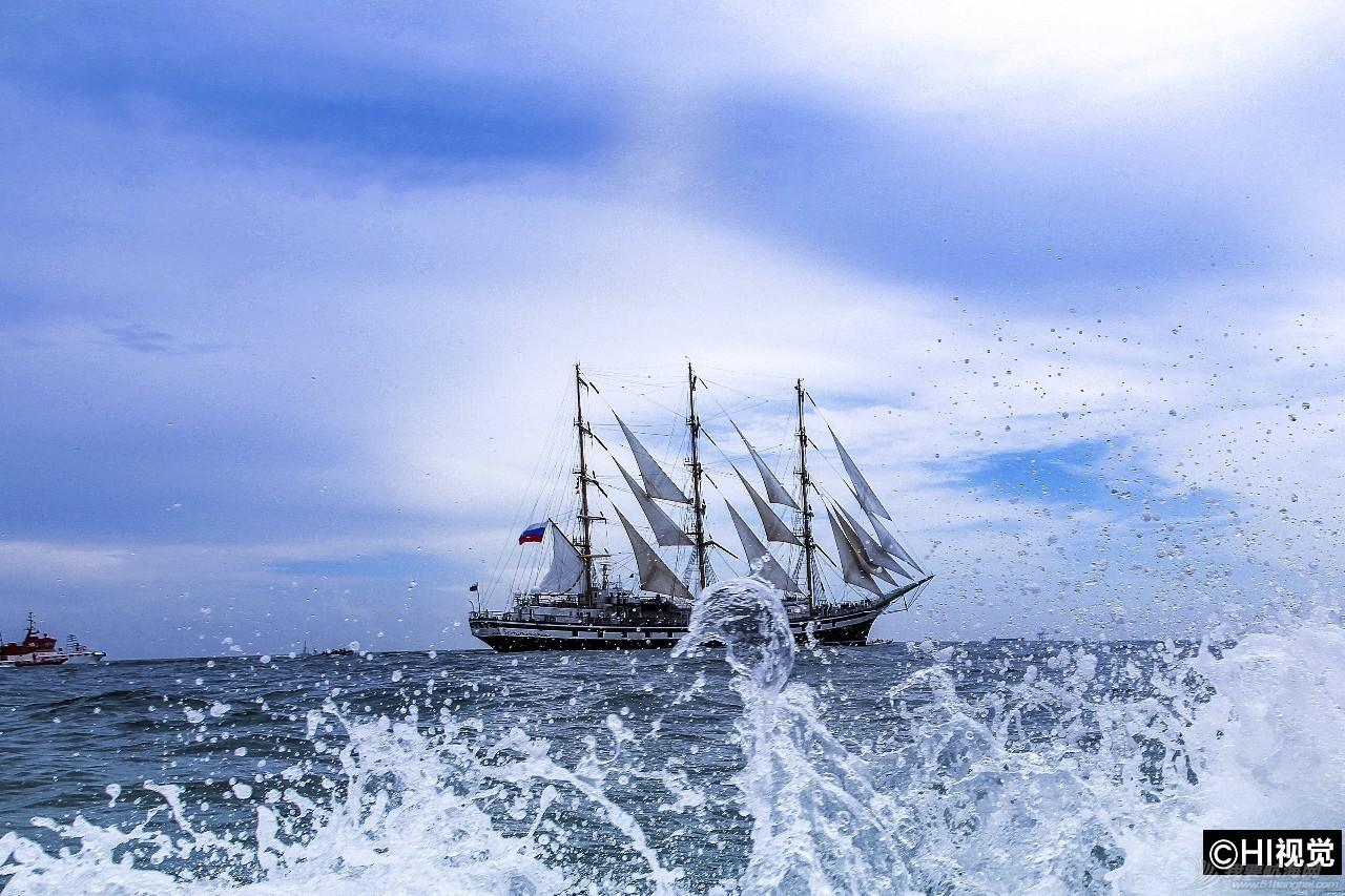 """【今日焦点】俄罗斯""""帕拉达""""号大帆船今告别青岛,停靠期间数百民众登船体验! cedcb4b2007fe89e9f7e2373d3251f7c.jpg"""