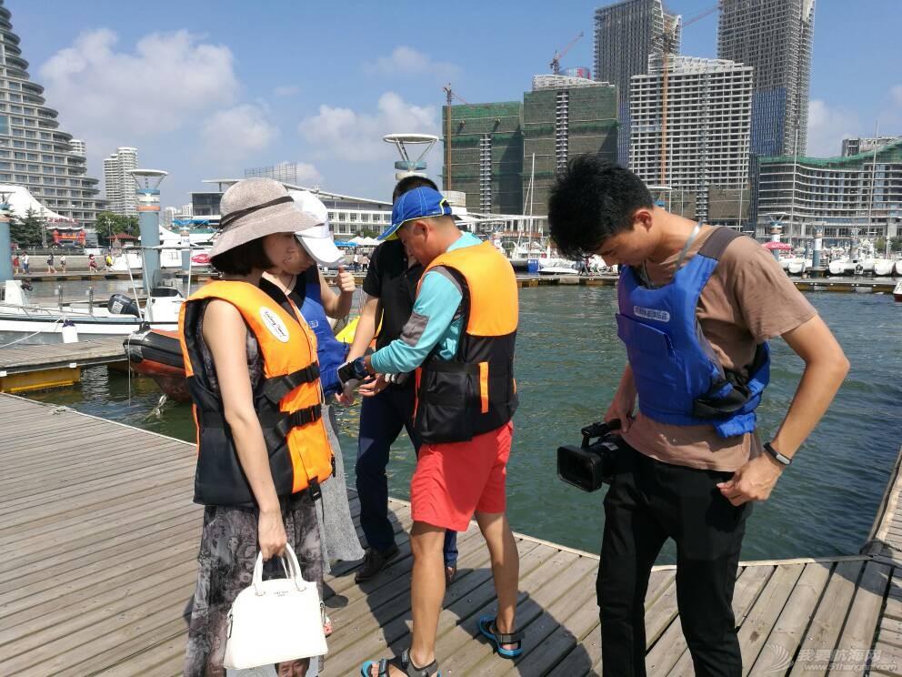 日照电视台来世帆公益基地上船采访,并体验帆船,听说两个美女记者都吐了,哈哈 164742kw6zwkwosjcdmzhc.jpg