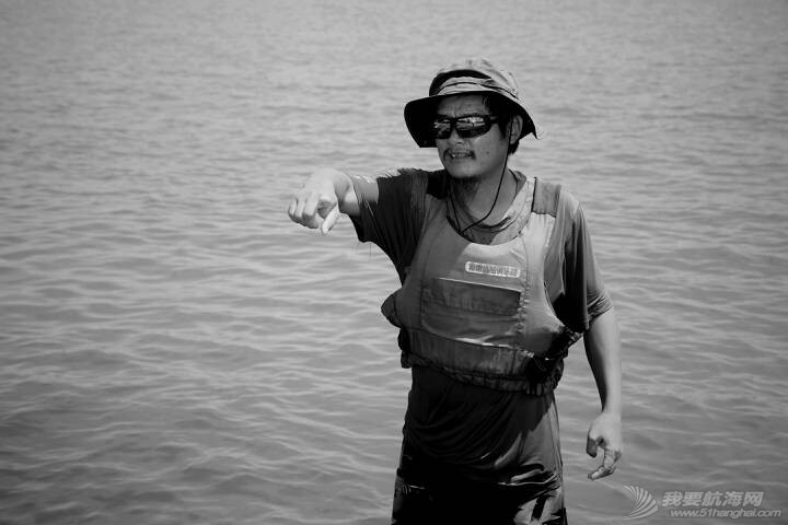 心动,帆动---日照航海公益培训体验(二)我们亦师亦友的徐鹏教练