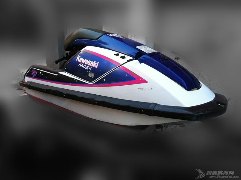 汽油发动机,摩托艇,北京,翻新 北京出售个人自己玩的川崎650立式单人摩托艇,原厂漆 2.jpg