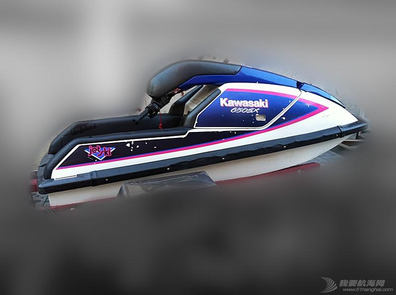 汽油发动机,摩托艇,北京,翻新 北京出售个人自己玩的川崎650立式单人摩托艇,原厂漆 1.jpg