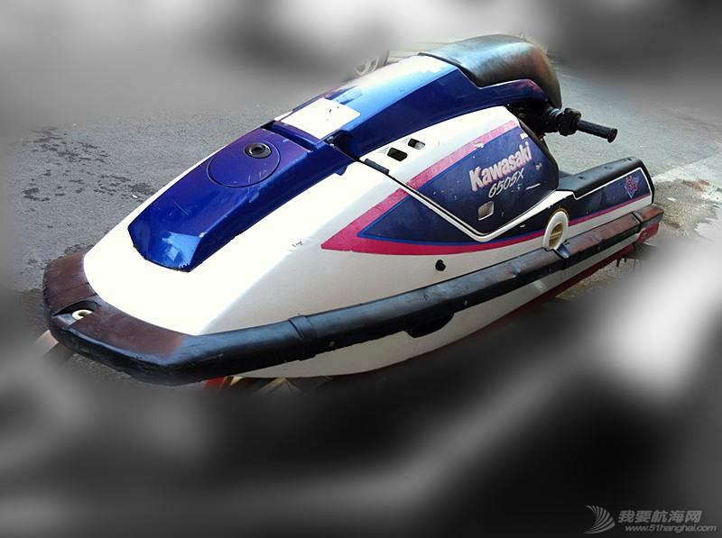 汽油发动机,摩托艇,北京,翻新 北京出售个人自己玩的川崎650立式单人摩托艇,原厂漆 3.jpg
