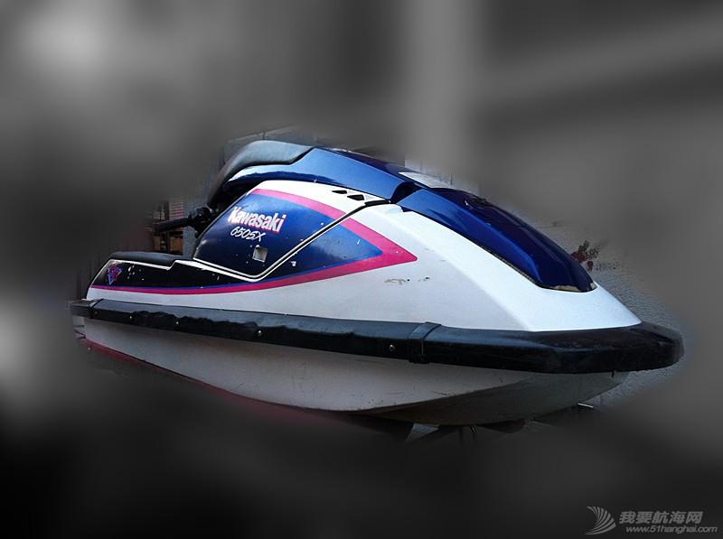 汽油发动机,摩托艇,北京,翻新 北京出售个人自己玩的川崎650立式单人摩托艇,原厂漆 12.jpg