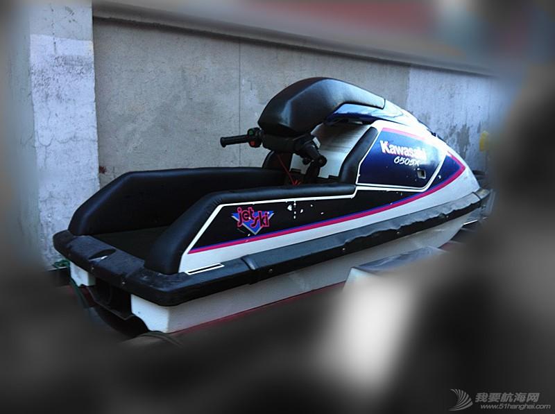 汽油发动机,摩托艇,北京,翻新 北京出售个人自己玩的川崎650立式单人摩托艇,原厂漆 17.jpg