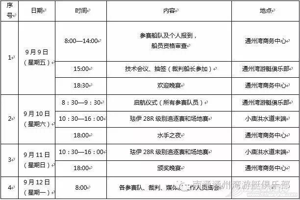 """2016第二届""""通州湾杯""""国际帆船邀请赛 珐伊28R竞赛通知 12.jpg"""