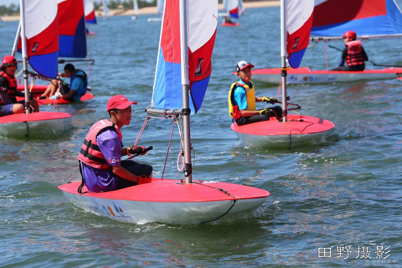 俱乐部,青少年,帆船 第二届全国帆船青少年俱乐部联赛激战正酣--田野摄影 E78W8417.JPG
