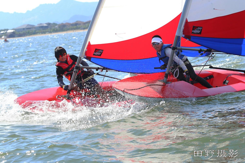 俱乐部,青少年,帆船 第二届全国帆船青少年俱乐部联赛激战正酣--田野摄影 E78W9124.JPG