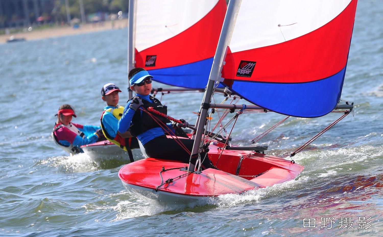 俱乐部,青少年,帆船 第二届全国帆船青少年俱乐部联赛激战正酣--田野摄影 E78W9160.JPG