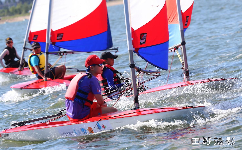 俱乐部,青少年,帆船 第二届全国帆船青少年俱乐部联赛激战正酣--田野摄影 E78W9230.JPG