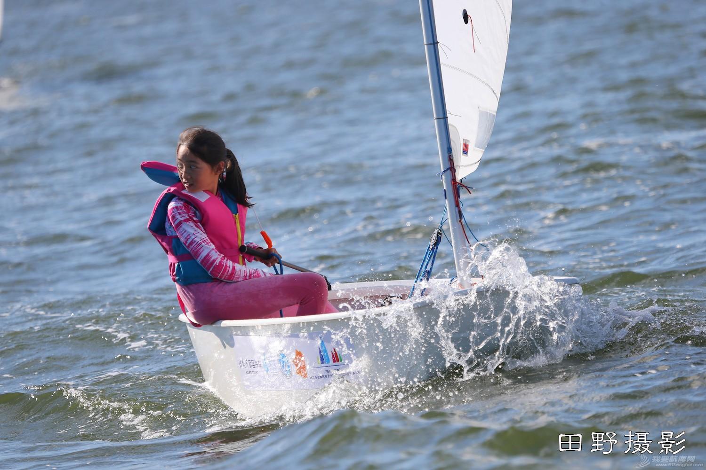 俱乐部,青少年,帆船 第二届全国帆船青少年俱乐部联赛激战正酣--田野摄影