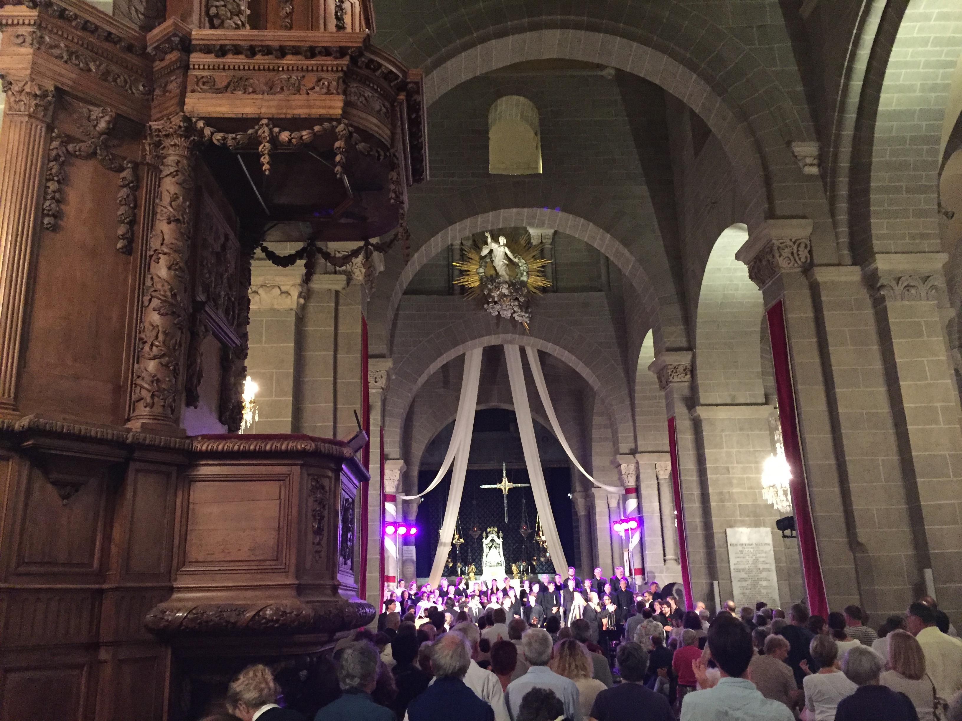 天主教弥撒,恐怖事件,扩音器,玛利亚,十字架 圣母升天烛光夜,上帝居所音乐节--《再济沧海》(68)