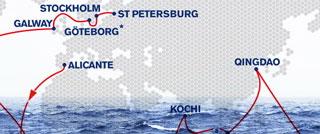 珠穆朗玛峰,沃尔沃,环游世界,安东尼,皮尔斯 【整理最全】1969年至2014年各赛季沃尔沃环球帆船赛精彩故事精集!