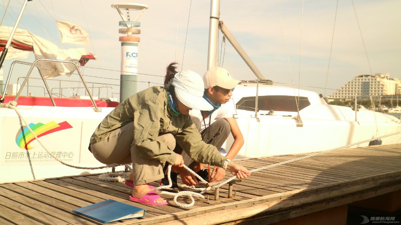 日照 从日照航海公益基地归来,心还在漂浮,帆船我将爱上你!