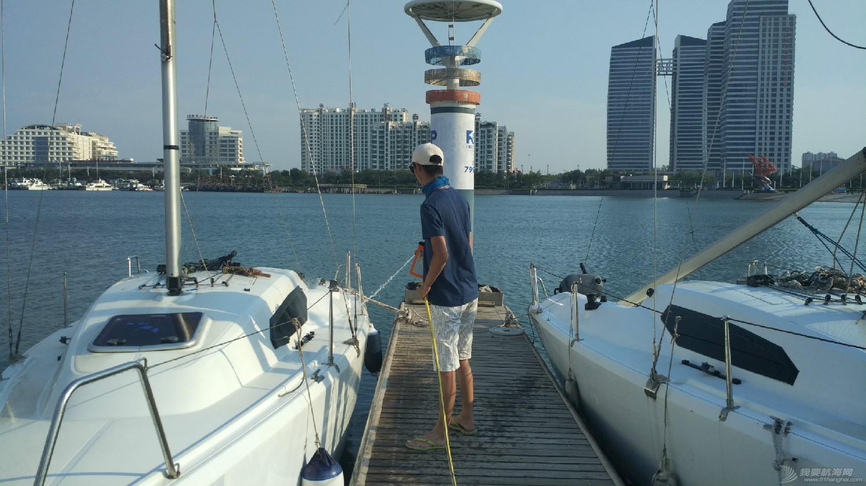 日照 从日照航海公益基地归来,心还在漂浮,帆船我将爱上你! 日照航海公益基地