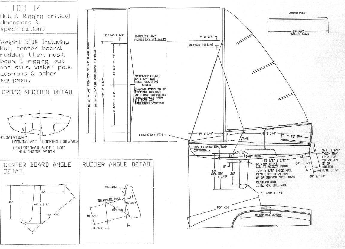 了解帆船的部位组成和英语表达将使进入航海课程的必修课 帆船的部位组成