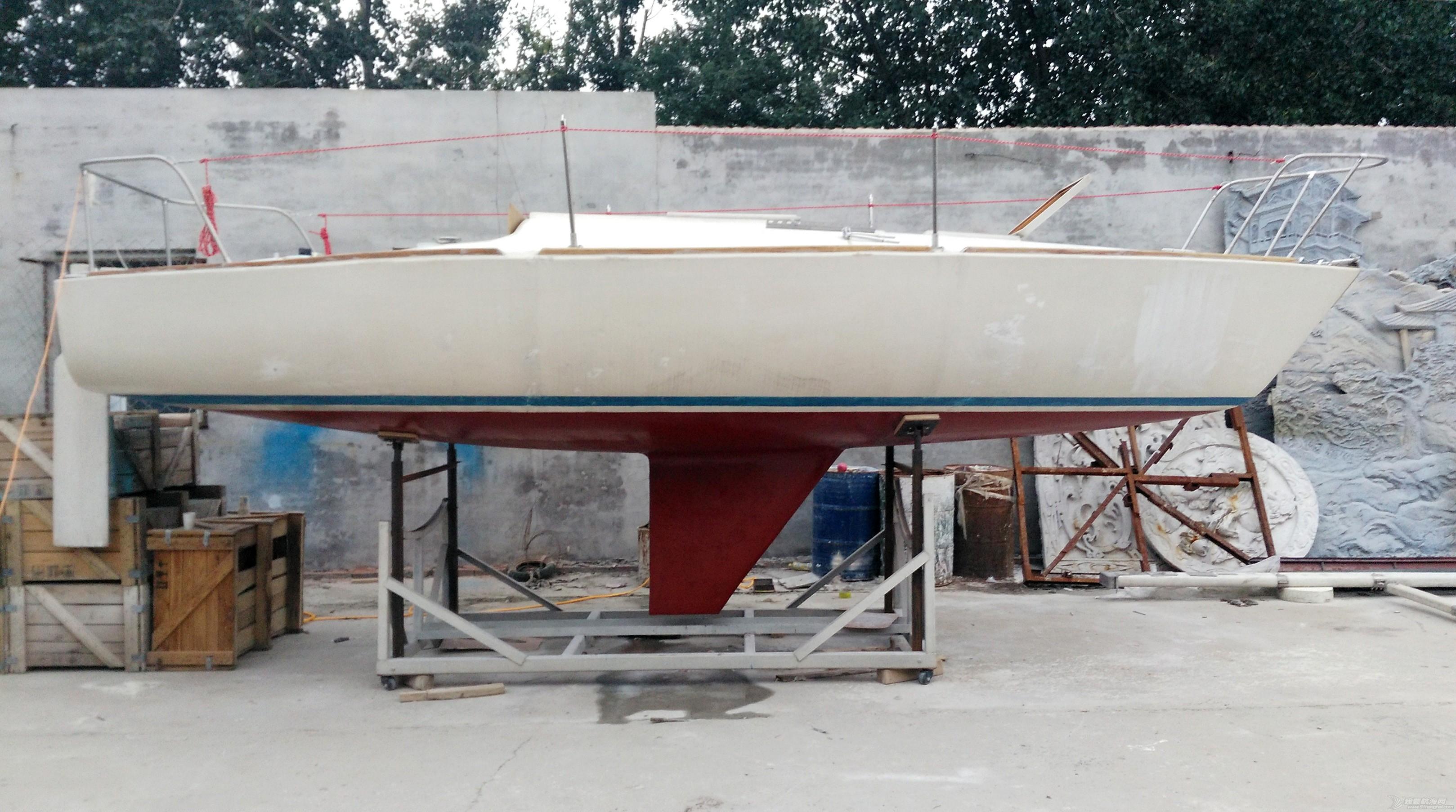 帆船 GR-750帆船龙骨安装 IMG_20160906_181350a.jpg