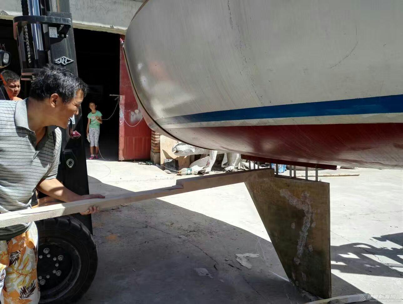 帆船 GR-750帆船龙骨安装 mmexport1472337955948.jpg