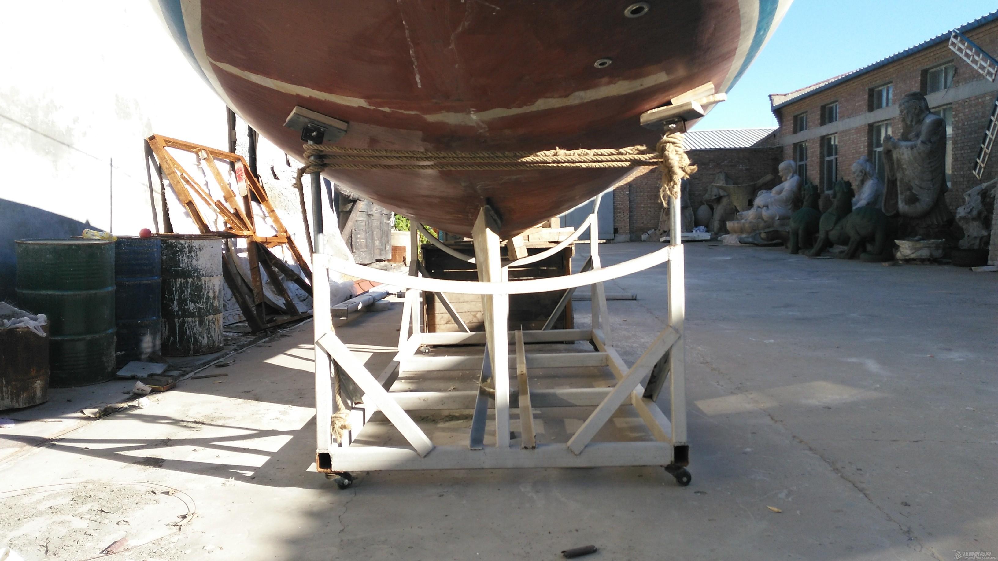 帆船 GR-750帆船龙骨安装 microMsg.1472341601634.jpg