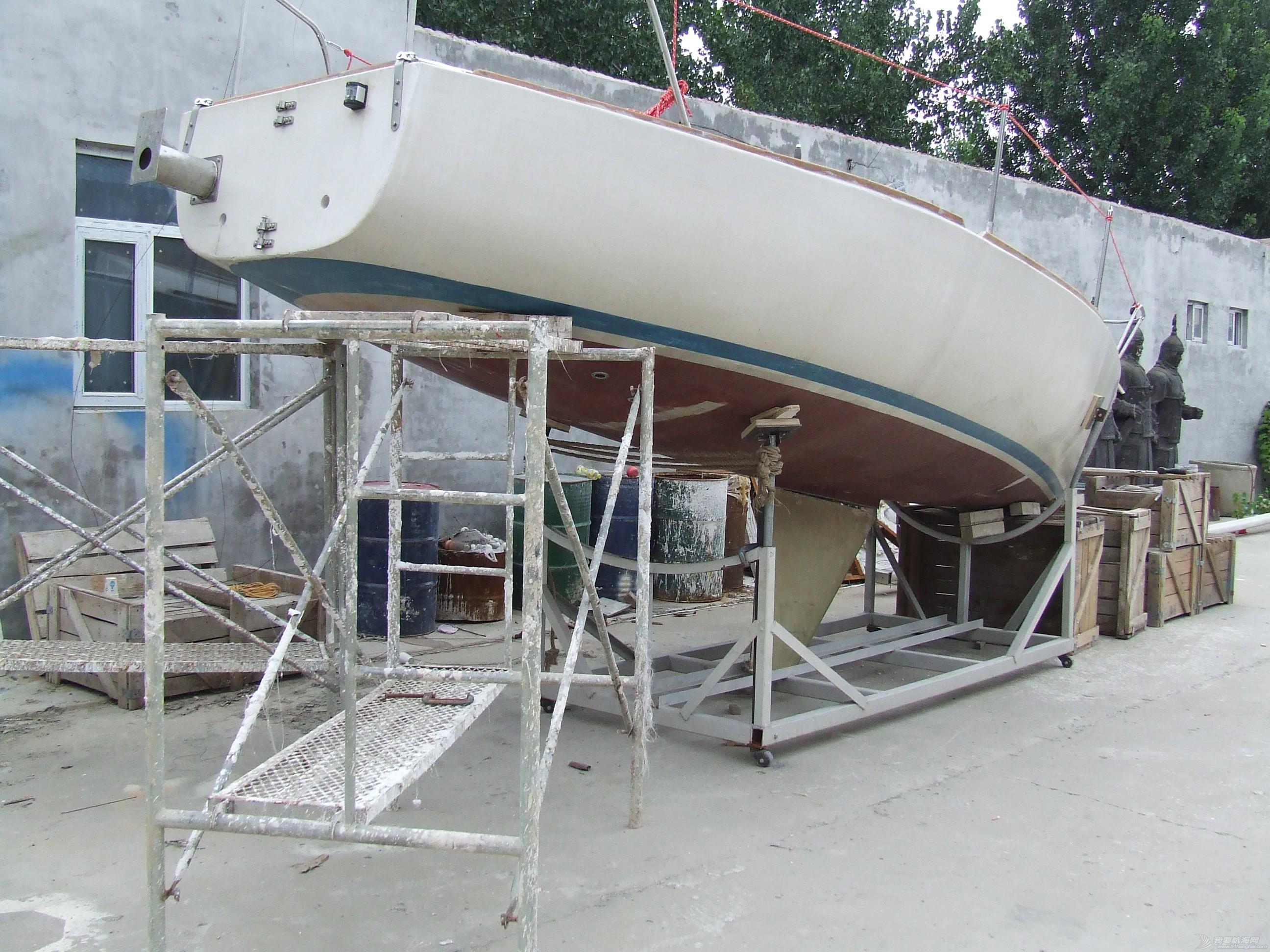 帆船 GR-750帆船龙骨安装 DSCF8047.JPG