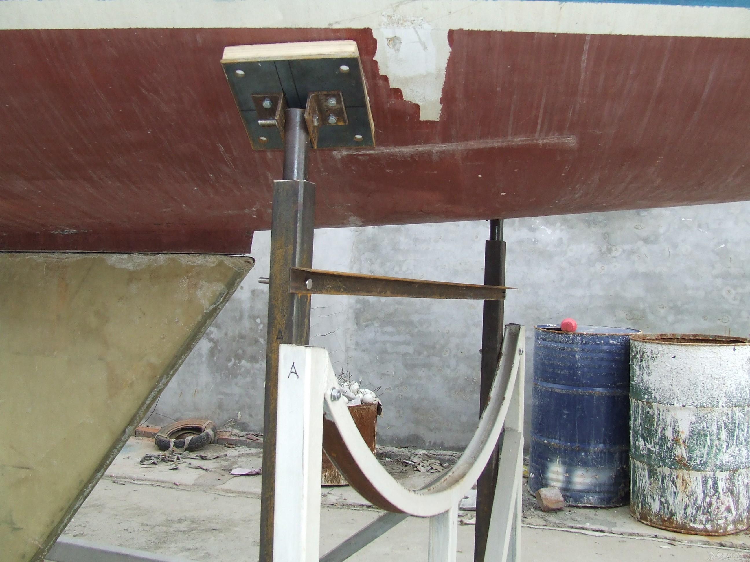 帆船 GR-750帆船龙骨安装 DSCF8081.JPG