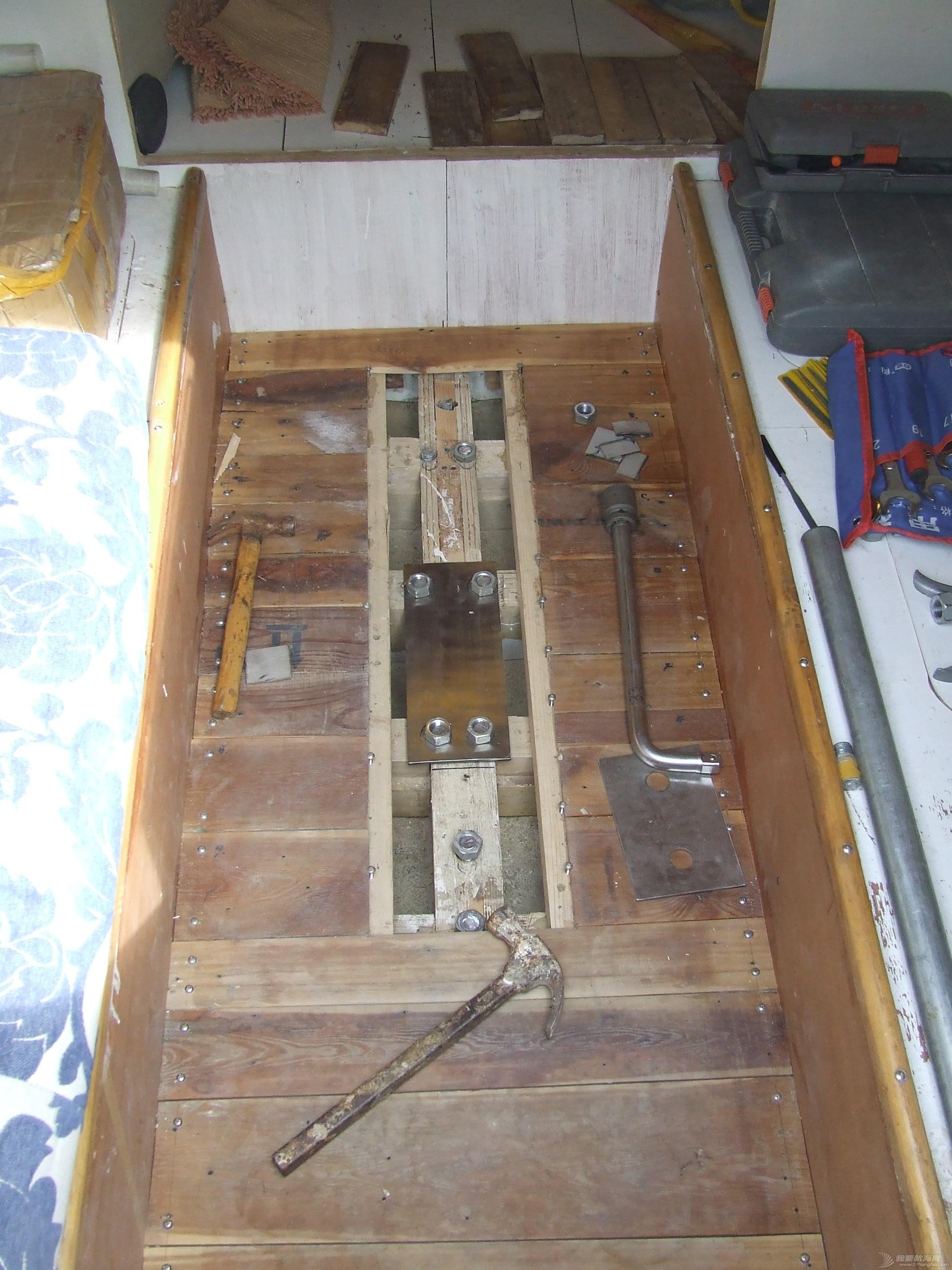 帆船 GR-750帆船龙骨安装 DSCF8065.JPG